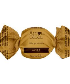 Trufa de Chocolate Amor em Cacau Avelã
